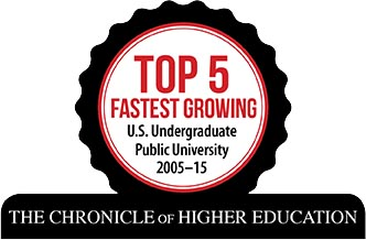 Chronicle of Education Top 5 Fastest Growing Public University