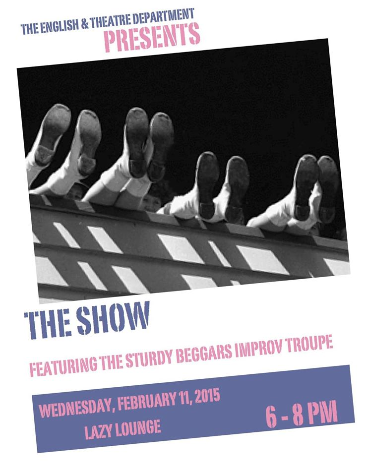 The Sturdy Beggars Improv Troupe Poster