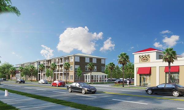 Beaufort Housing Street View Rendering